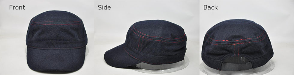 Customizable Denim Hats